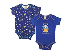 Dreamsicle Monster Bodysuit 2-Pack (0-3)