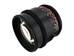 Rokinon 85mm T1.5 Cine Aspherical Lens for Sony E