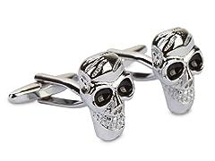 SD Man Skull Cufflinks