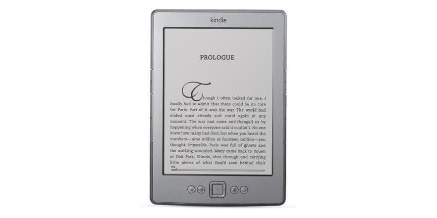 Kindle (4th Gen) Wi-Fi E-Reader