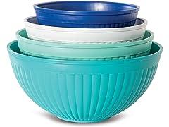 Nordic Ware Prep & Serve Mixing Bowl Set