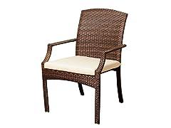 4-Piece Wicker Dining Chair