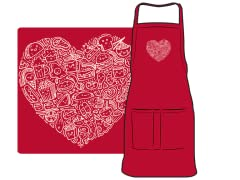 """I Love Food"" Apron"