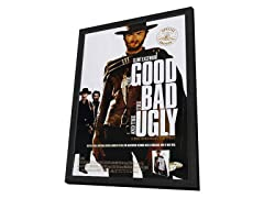 Good, the Bad & Ugly Framed Movie Poster