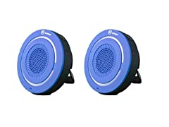 Oroview Bluetooth Shower Speaker - 2 Pack