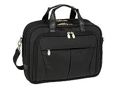 "Pearson Nylon Expandable 15.4"" Briefcase"