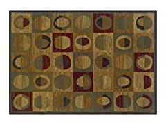 Madison Circles/Squares Area Rug (4 Sizes)