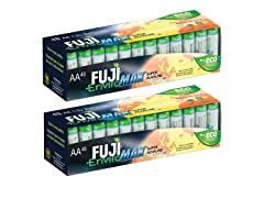 Fuji EnviroMAX Batteries 96 Pack - 96 AA