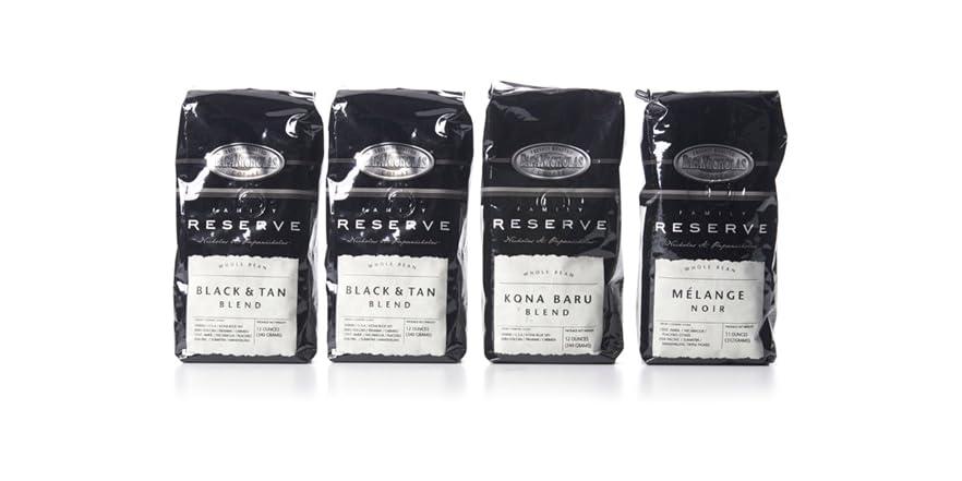 Family Reserve Whole Bean Coffee 4pk