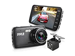 Pyle 4 Inch Dual Lens Car Camera