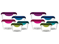 Jewel Tone Food Storage Set