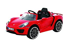 Rollplay 6 Volt Porsche 918 Ride On Toy