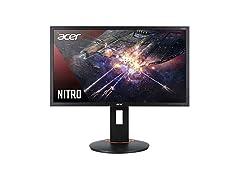 "Acer Nitro XFA240Q Sbiipr 23.6"" FHD Monitor"