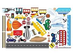 Peel & Play Full Set - Cars & Trucks