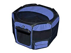 Octagon Pet Pen w Removable Top - Lavender