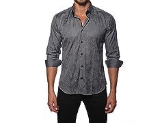 Jared Lang Dress Shirt, Dark Grey
