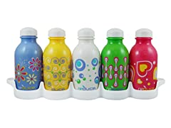 Reusable Water Bottles - 5 pack