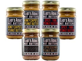 6 Pack Eliot's Adult Nut Butters Sampler