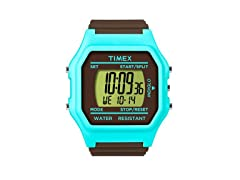 Timex Unisex Jumbo Face Blue Watch
