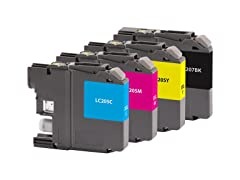 Inkjet for Brother LC-207XXXL Black/LC-2
