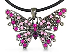 Swarovski Elements Crystal Pink Pendant
