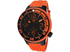 Men's Neptune Watch - Orange/Black