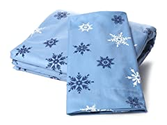 Microfiber Flannel Set-Snow-Full/King