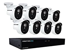 Night Owl HD System w/ DVR & 8 Cameras