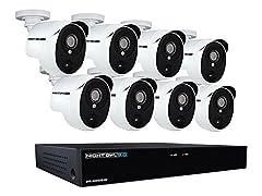 Night Owl HD System w/ DVR & 8 Cameras