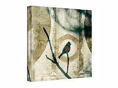 Yoga Bird - Wrapped Canvas (3 Sizes)