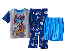 Mickey Mouse 3-Piece Set (2T-4T)