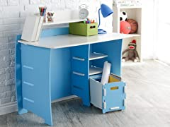 "Legare 43"" Kids Desk w/File Cart 2-Colors"