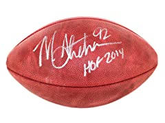 Michael Strahan Signed NFL Duke Football