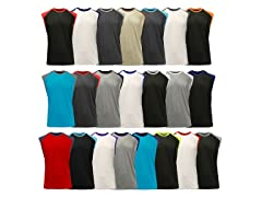 GBH Men's Raglan Muscle Tee 4-Pack