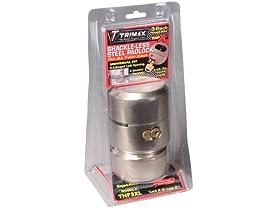 3-Pack Trimax Hockey Puck Keyed Alike Internal Shackle Trailer Door Lock