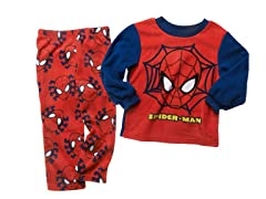 Spiderman 2-Piece Fleece Set (2T-4T)