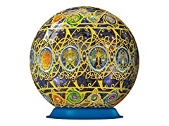 270-Piece Zodiac 3-D Puzzle Ball