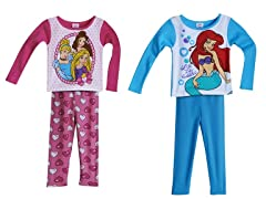 Disney Princess 4-Piece Set (2T)