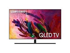 "Samsung 55"" Class 4K UHD Smart QLED TV w/ HDR"