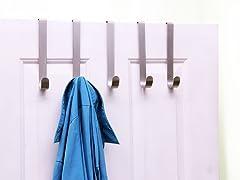5 Hook Over the Door Hanger