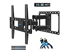 "Mounting Dream Full-Motion Wall Mount for 32-55"" TVs"