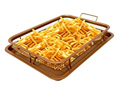 Non-stick Copper Crisper Tray - 2 Sizes