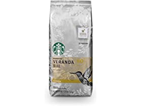 Starbucks Veranda Blend Light Blonde Roast Ground Coffee