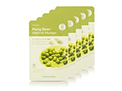 Real Nature Mung Bean Face Mask Pack