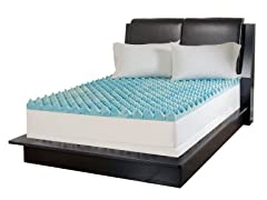 Sculpted Gel Memory Foam Topper-5 Sizes
