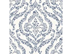 Blue Guildford Peel & Stick Wallpaper