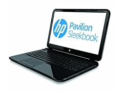 "HP 15.6"" Dual-Core TouchSmart Sleekbook"