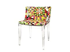 Fiore Acrylic Accent Chair