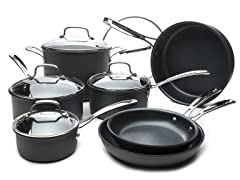 Cuisinart 12-Piece Nonstick Cookware Set