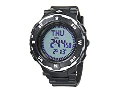 Venture Digital Watch - Black/Silver